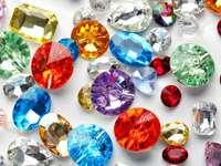 Kolorowe kryształy
