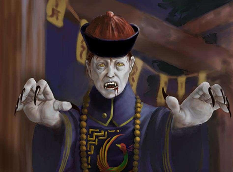 Vampire.jiangshi chiński