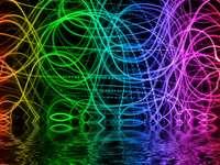 Kolorowe linie