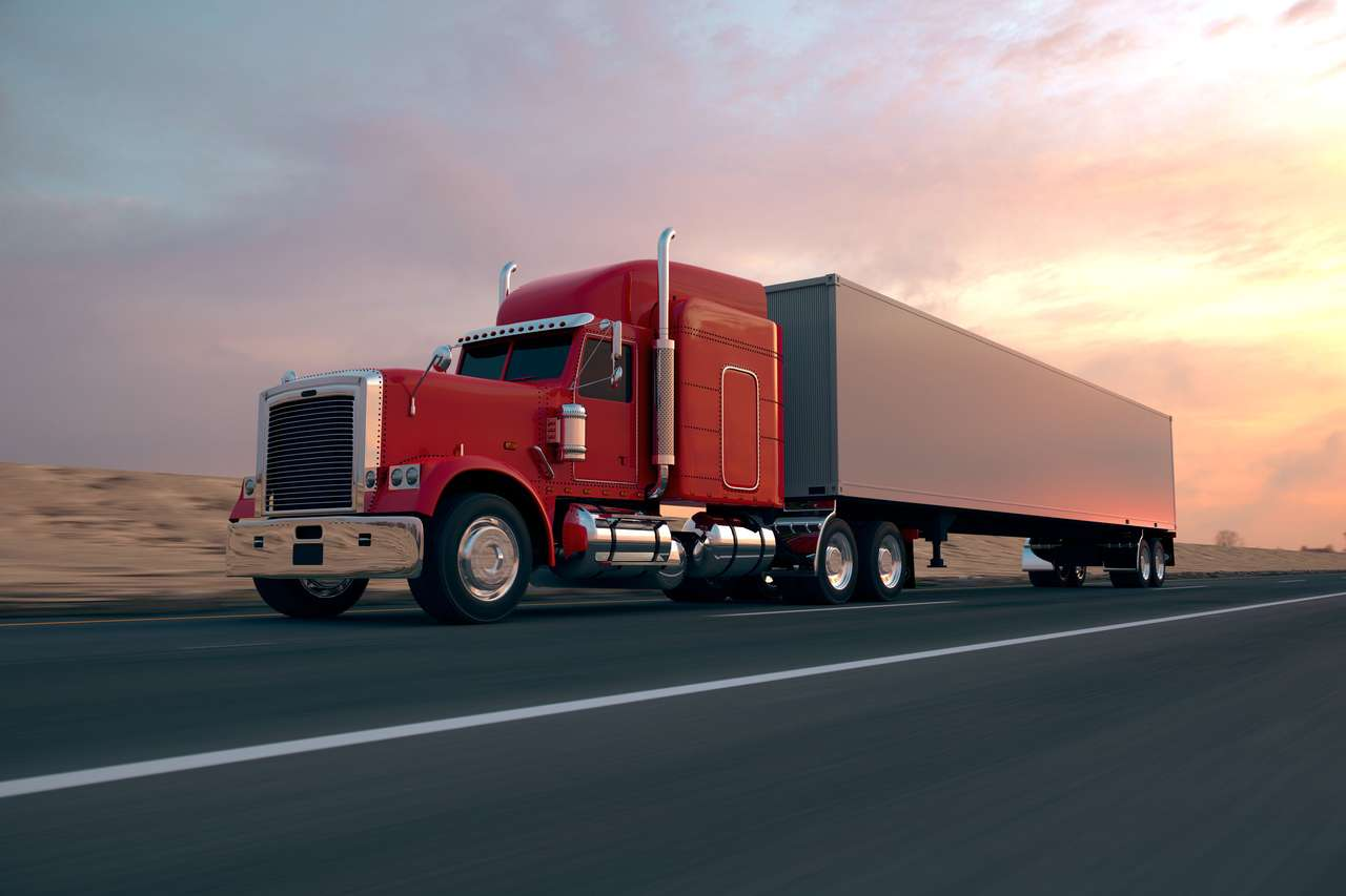 Wielka ciężarówka