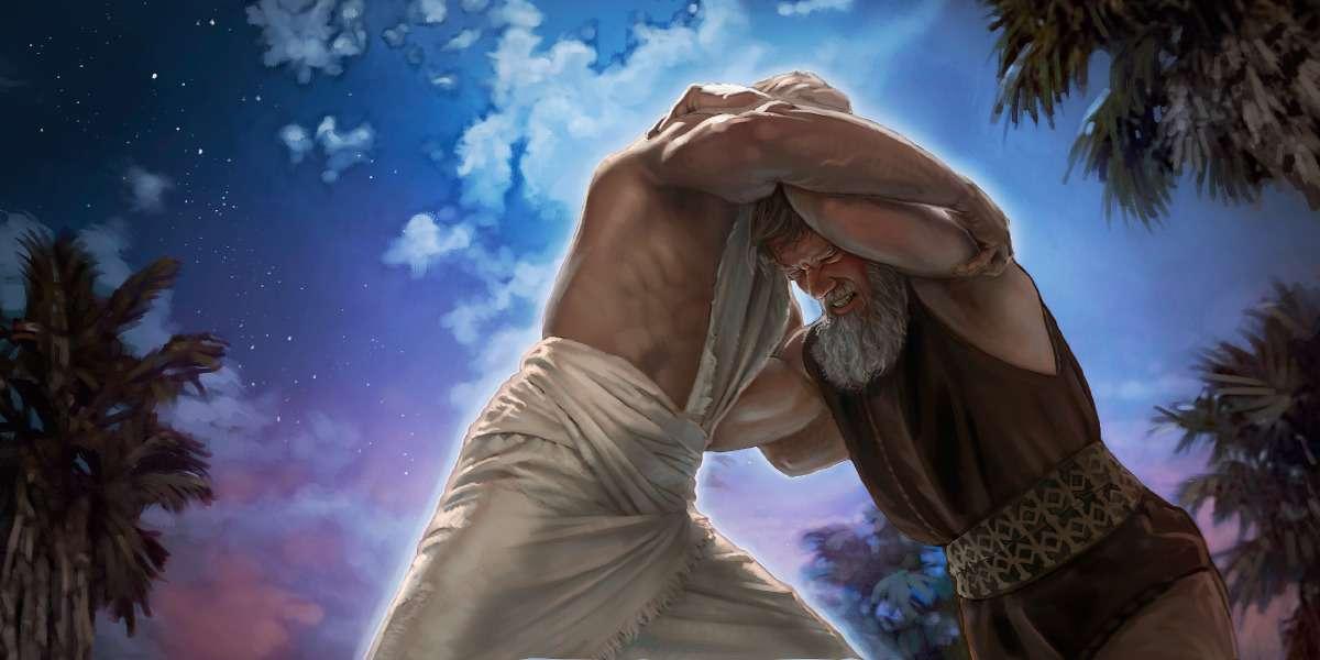 Jacob zmusił się z aniołem na błogosławieństwo Jehowy