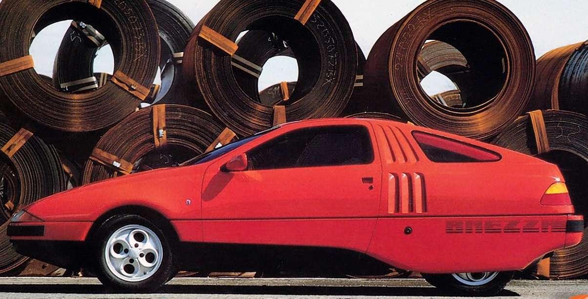 Ghia Brezza Retro Concept Car puzzle online