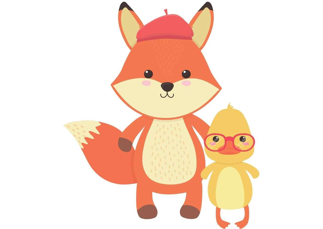 Fox i kaczka