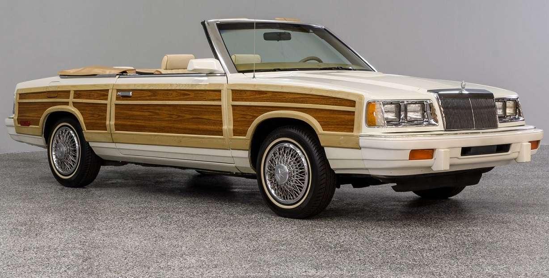 Chrysler K Car Woodside Cabrio
