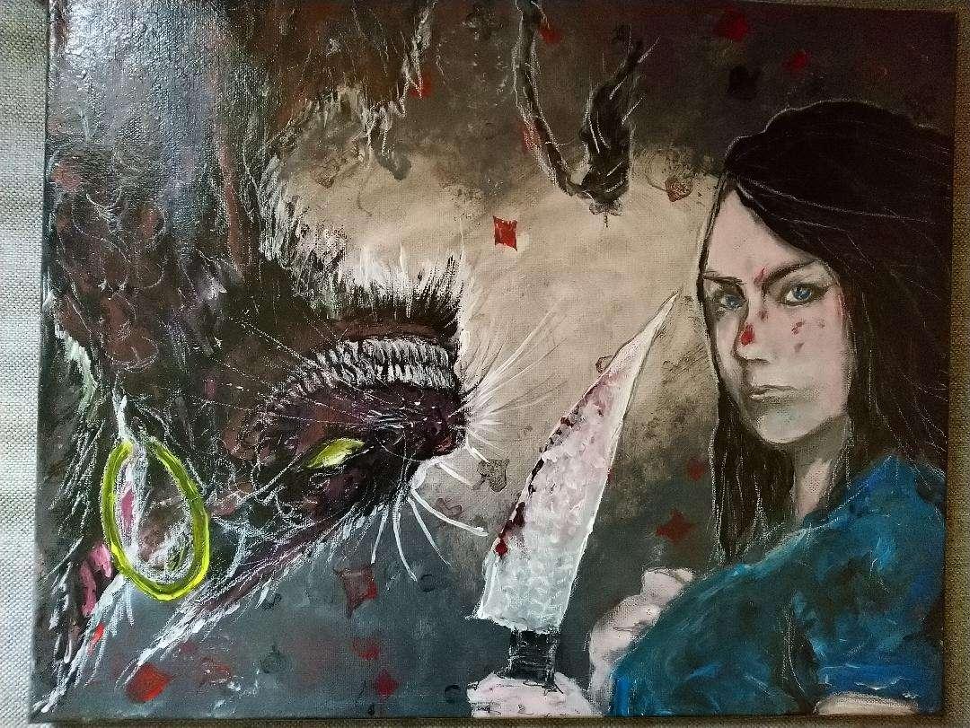Alice mCgee & Cheshire Cat