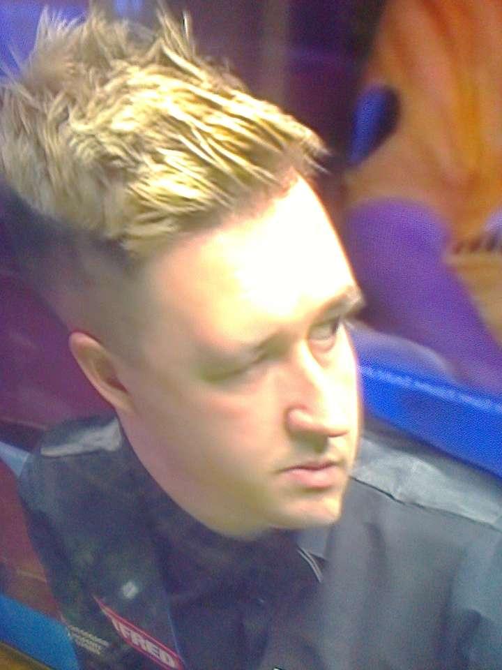 Kyren Wilson snooker.
