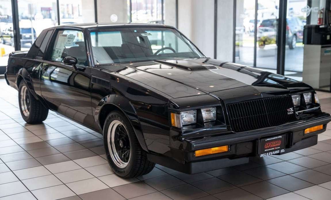 Buick gnx - '87