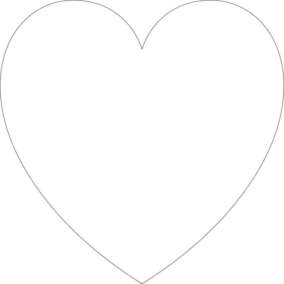 Kawałki i kształty układanki serca