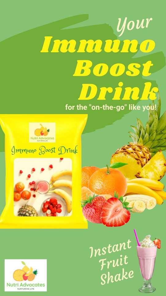 Nutri Advocate - Immuno Boost Drink puzzle ze zdjęcia