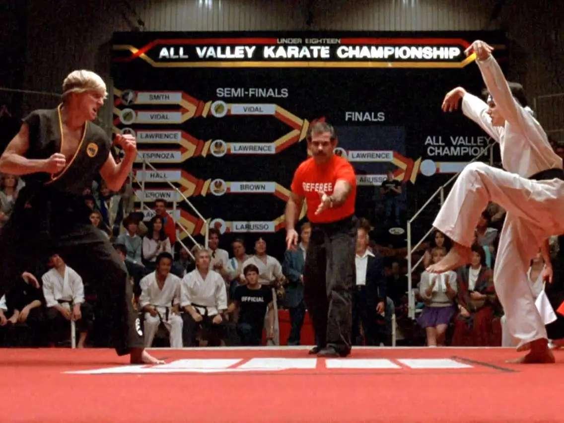 Test Karate Kid.