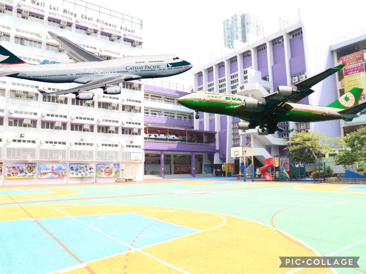 Cathay Pacific i Eva Air 747