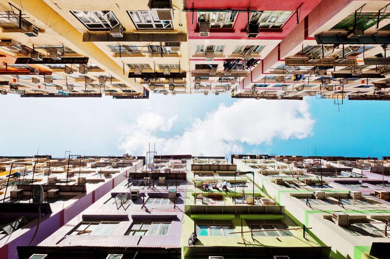 Budynki mieszkalne w Hongkongu