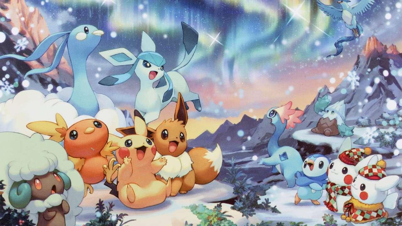 Boże Narodzenie Pokemon.