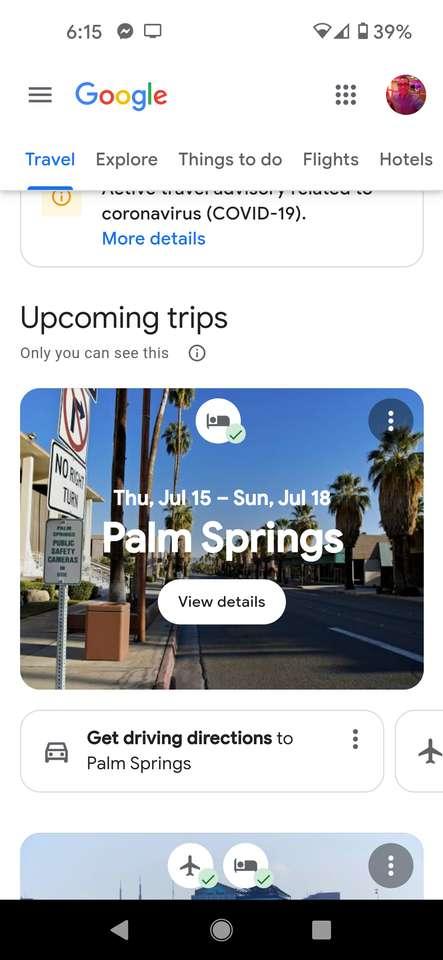 Wycieczka zbyt palma sprężyny