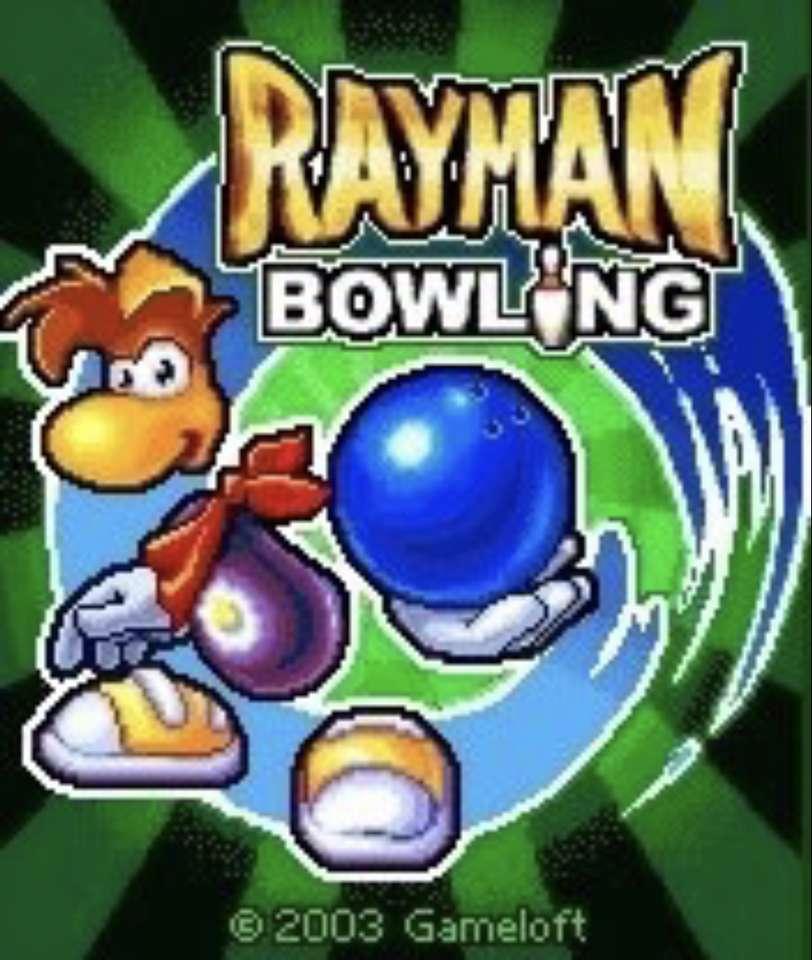 Rayman bowling.