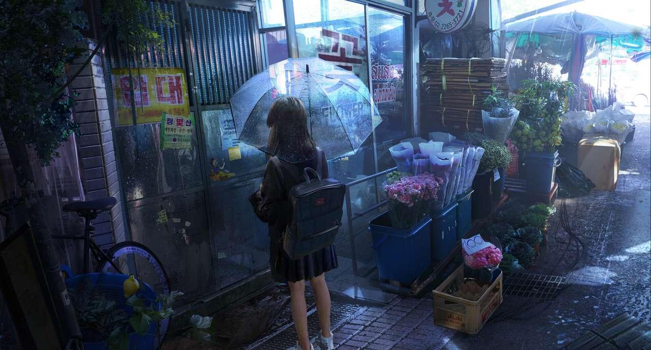Japoński nastolatek. puzzle online