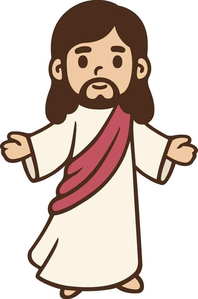 Kreskówka Jezusa.