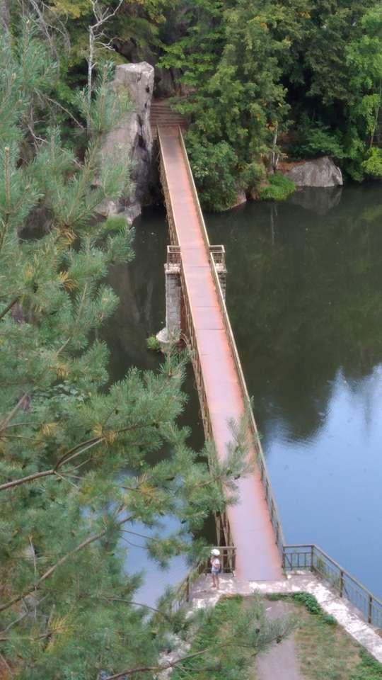"""Most koło """"Perły Zachodu"""" Dolny Śląsk"""
