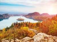Jezioro Bled.