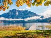Altausseer See Lake.