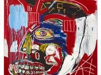 Basquiatycki obraz puzzle online