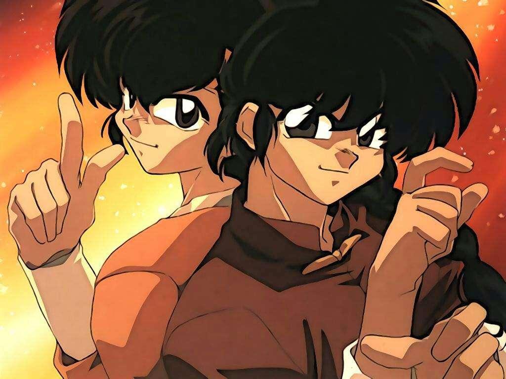 Ranma & Ryoga.