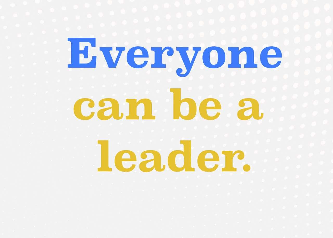 Każdy może być liderem
