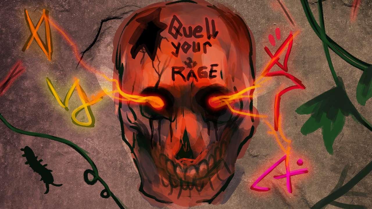 Spooky Inscription
