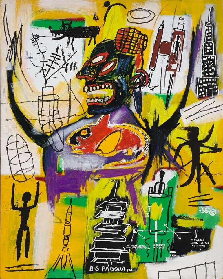Basquiatycki obraz