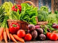 Skład z warzywami