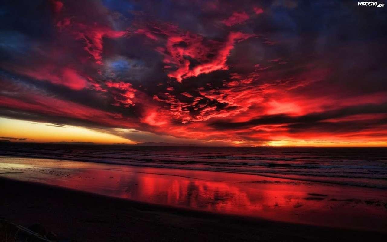 kolorowe chmury