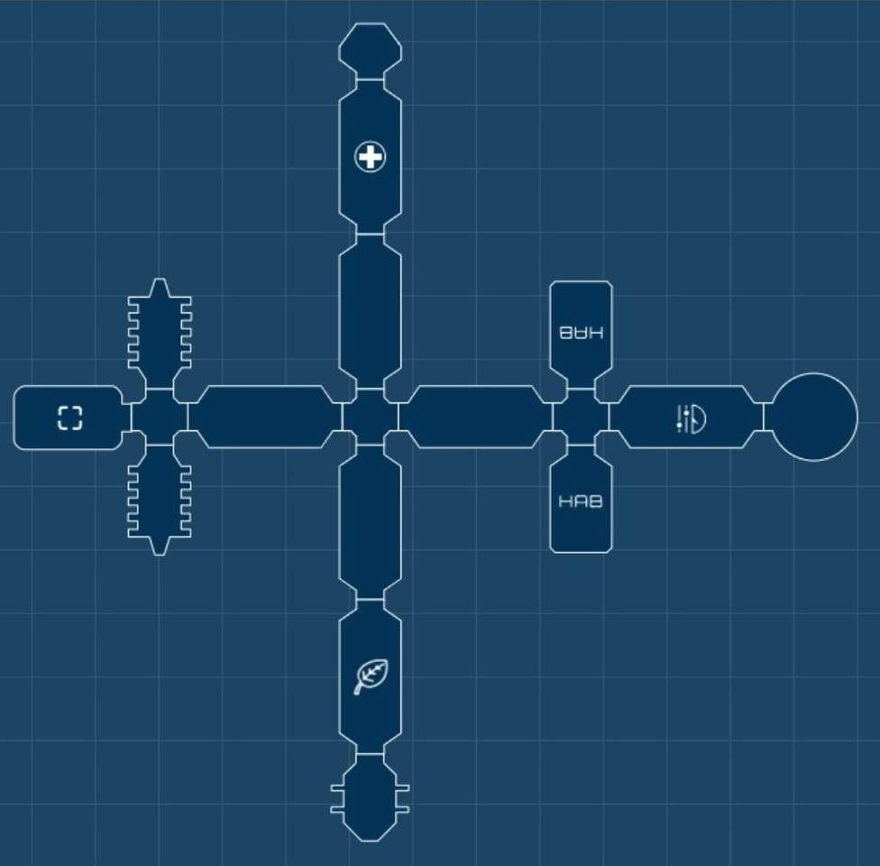 Space Station Blueprints