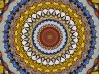 Antique Dekoracja mozaiki arabskiej mozaiki