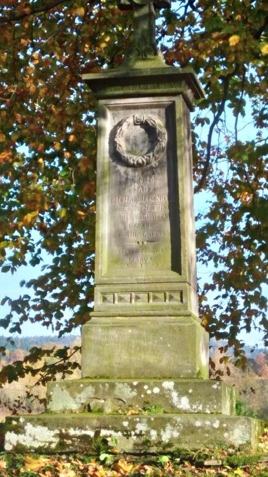 Pomnik - Bieszczady