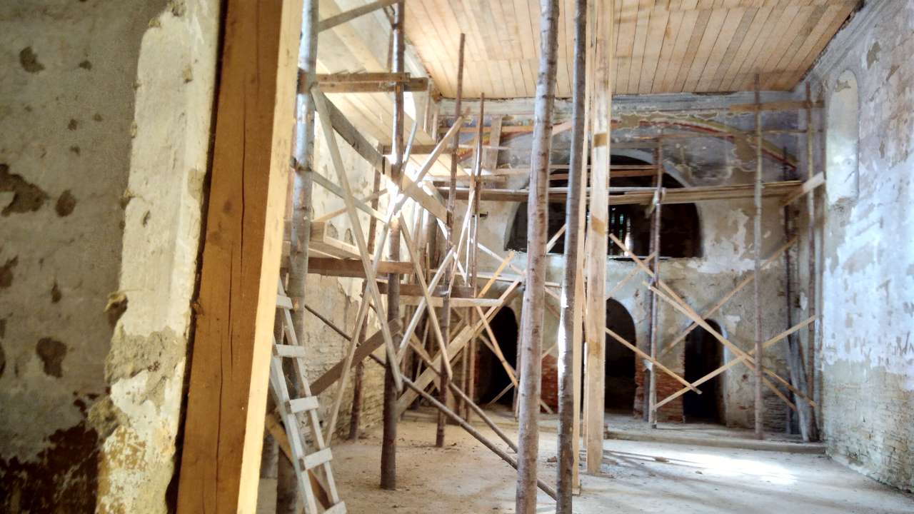 Cerkiew w Króliku Wołoskim (remont)