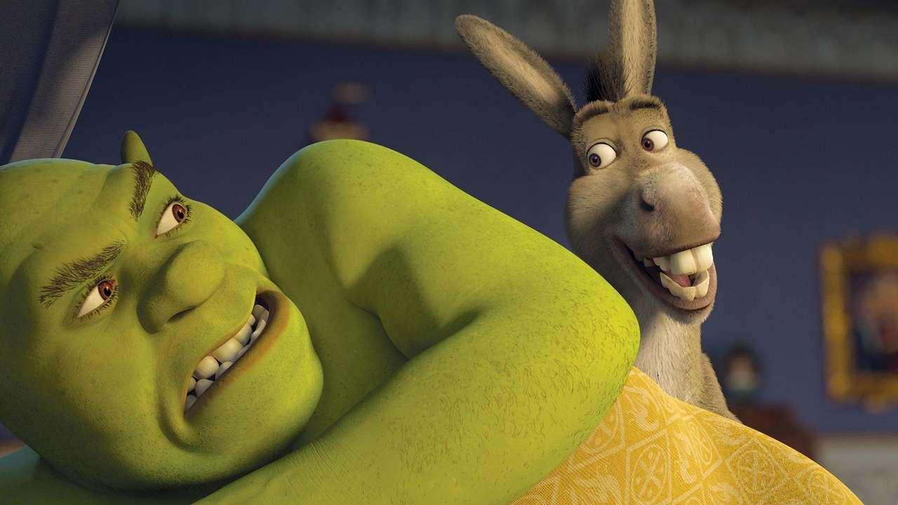 Shrek i osioł.