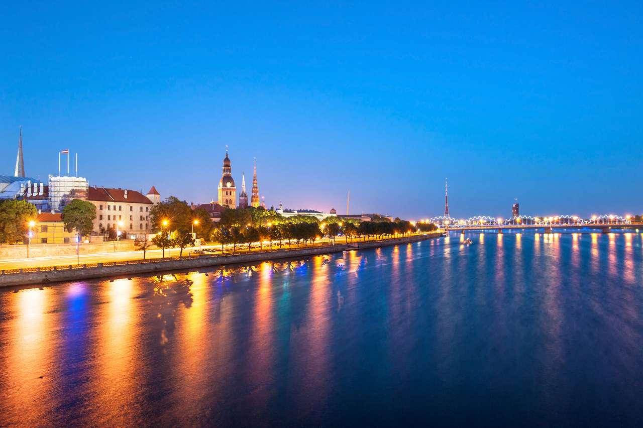 Skyline of Riga