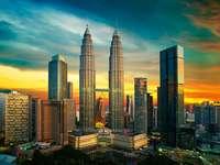 Kuala Lumpur Skyline.