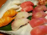 Ryba sushi.