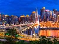 Chongqing w nocy