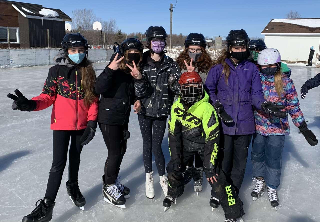 Grupa łyżwiarska