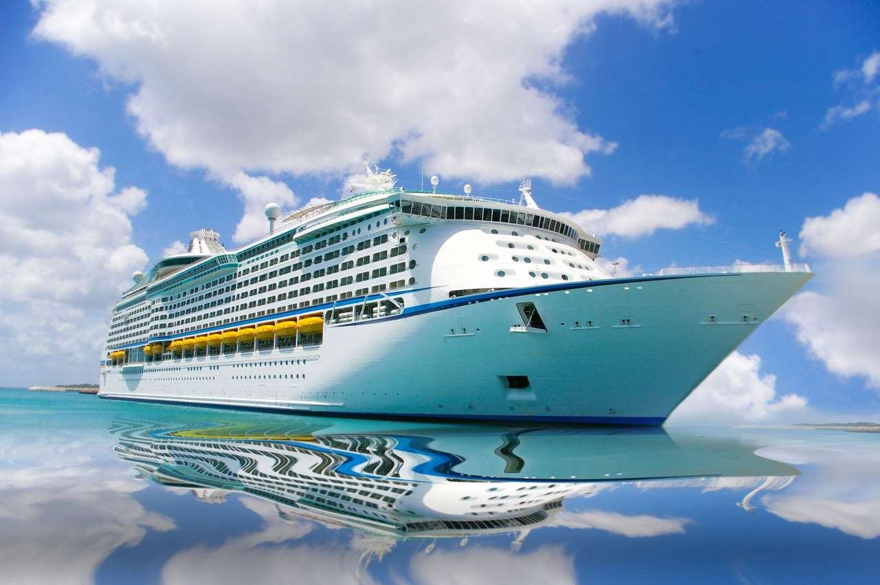 Statek wycieczkowy na Morzu Karaibskim puzzle online