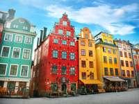 Miejsce Stortorget w Gamla Stan, Sztokholm