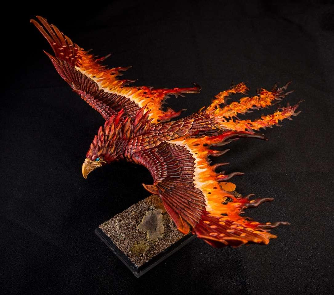 Flame phoenix