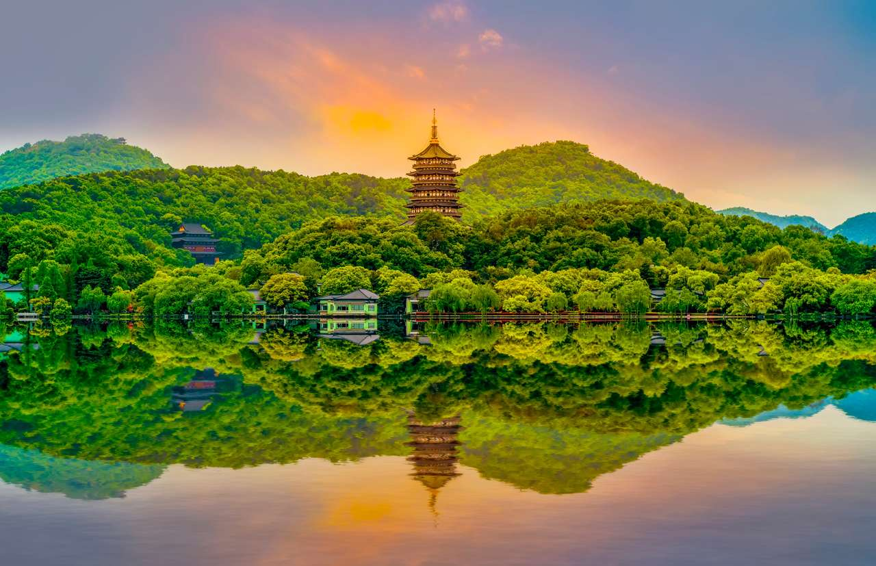 Krajobraz Hangzhou