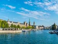 Centrum miasta Zurych.