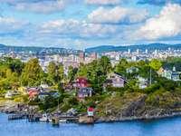 Oslo miasto w fiordzie