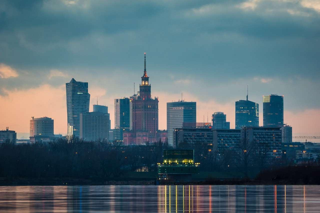 Panorama Warszawy puzzle