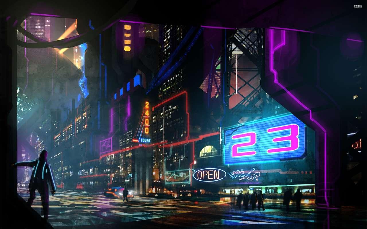 Futurystyczny miasto