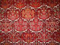 Piękny turecki dywan z wzorem